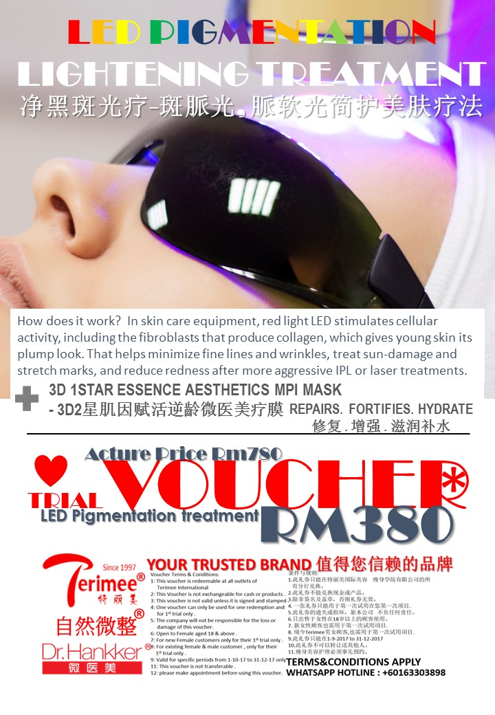 (8A-2) VOUCHER-LED.PIGMENTATION TREATMENT